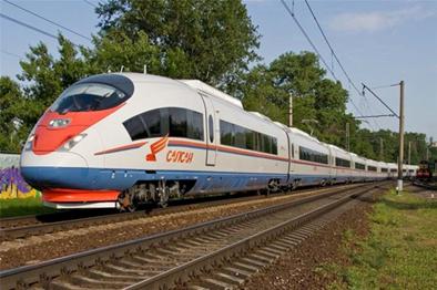 ขบวนรถไฟความเร็วสูง (Sapsan)